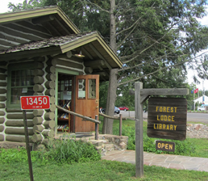 There's lots of fun in the summer at The Forest Lodge Library in Cable, Wisconsin.